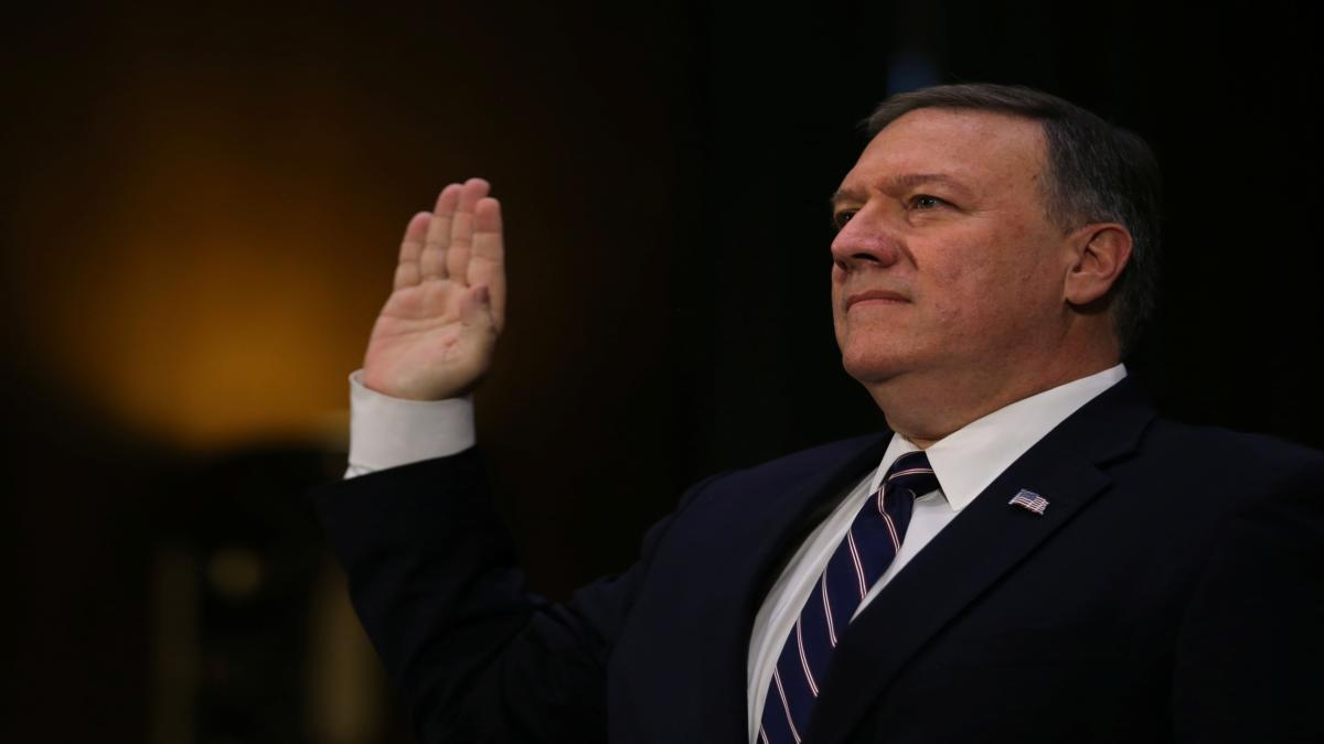 Central Intelligence Agency pick Pompeo differs from Trump on Russian Federation