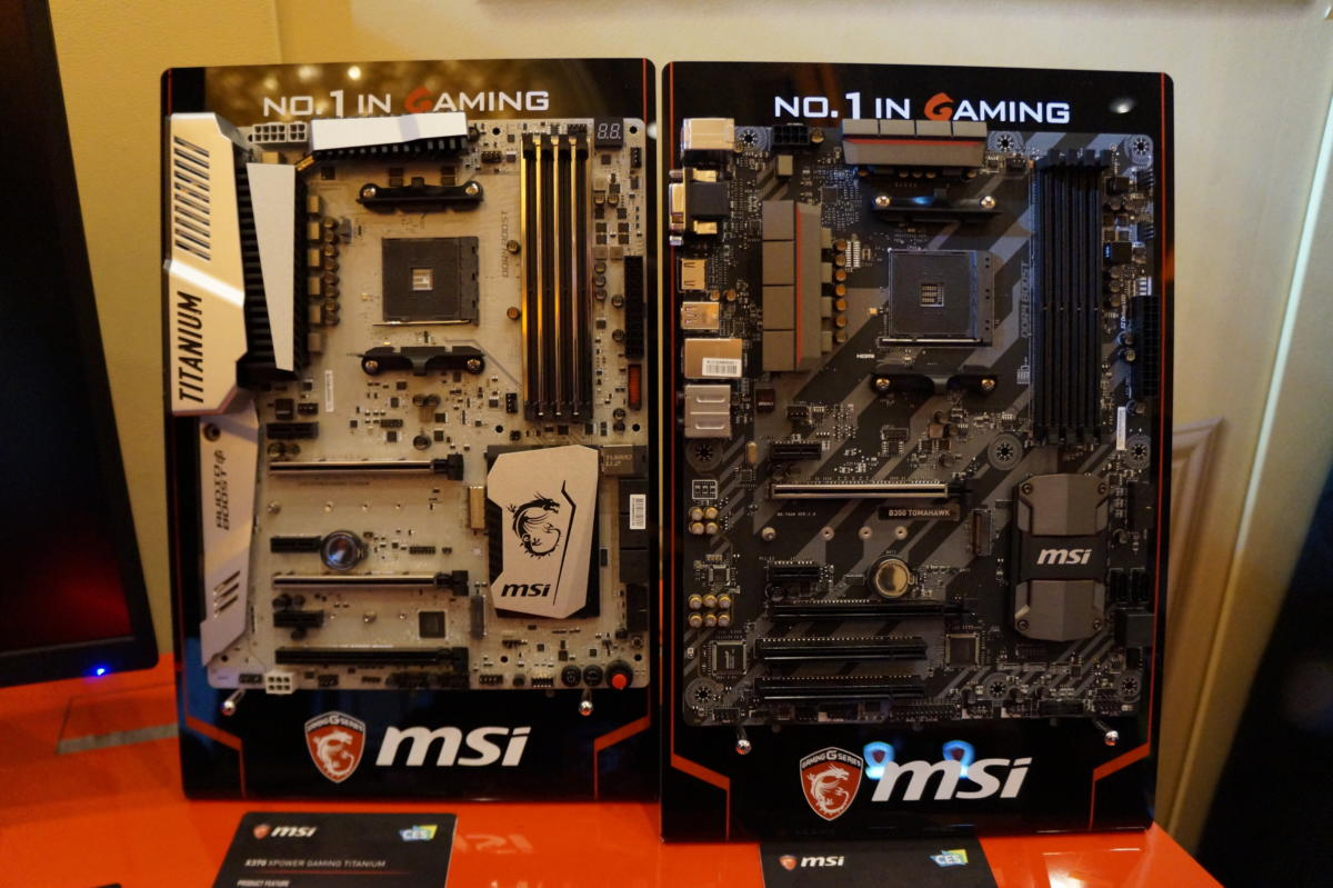 msi am4 motherboards