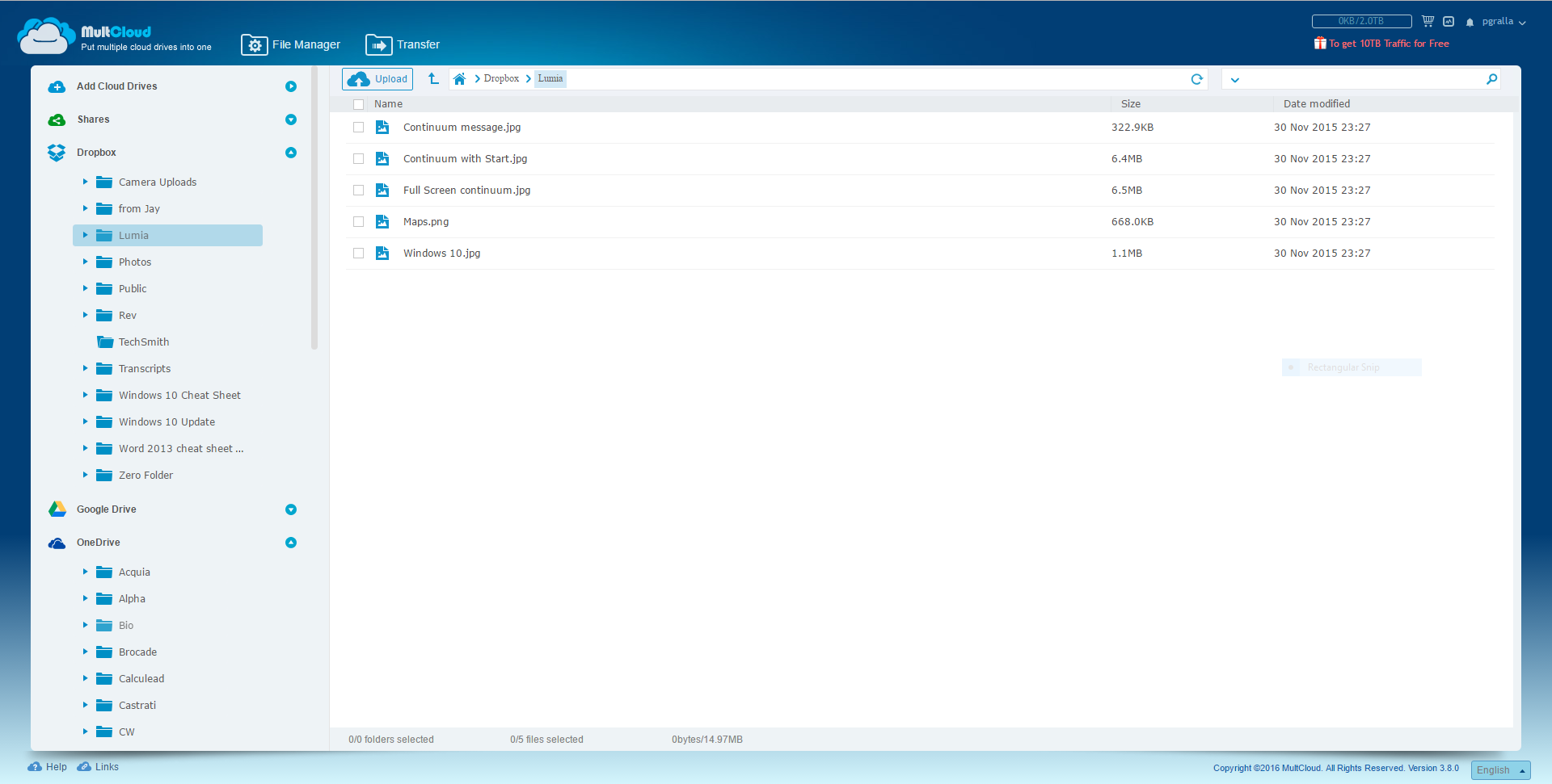 Review: 3 services for managing all your cloud storage accounts