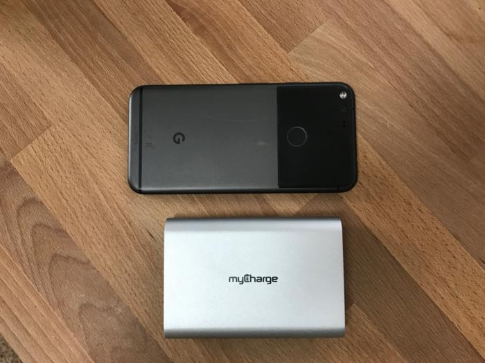 mycharge razorplatinum size comparison google pixel