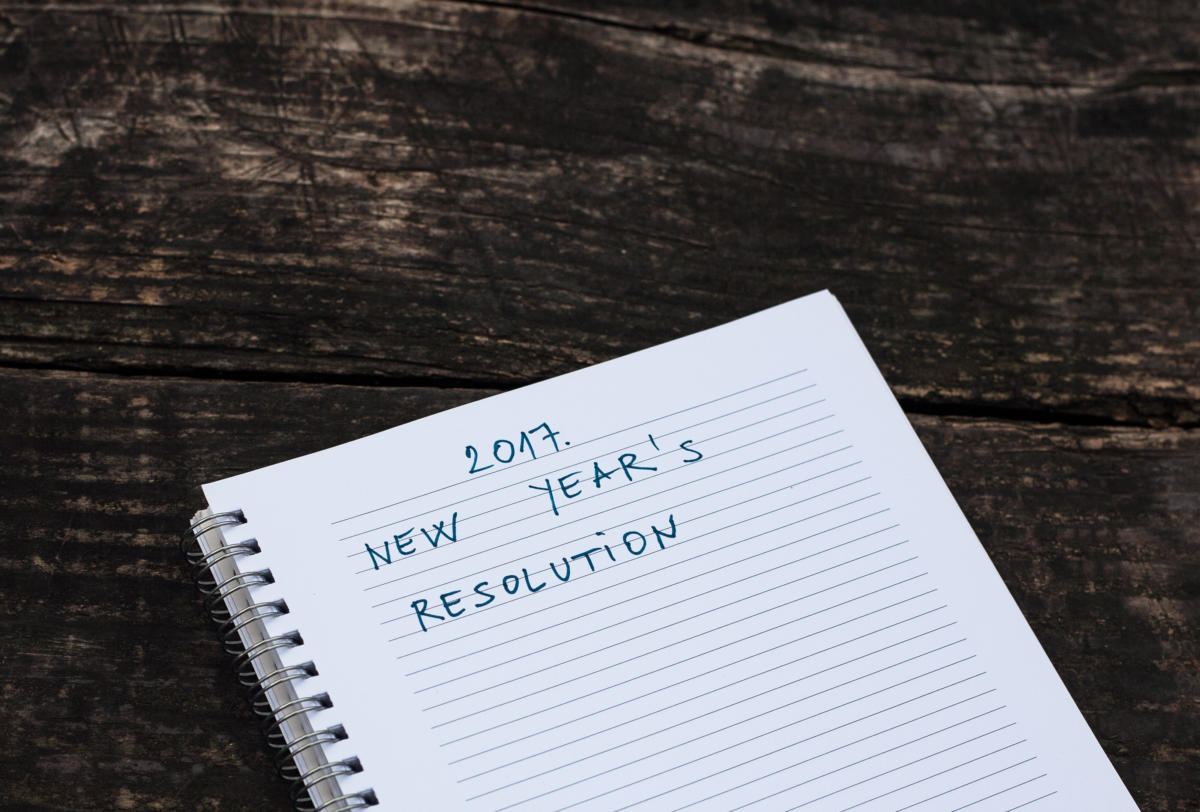 new years resolution 2017 thinkstock