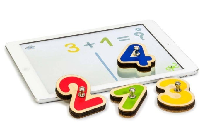 smart numbers with ipad