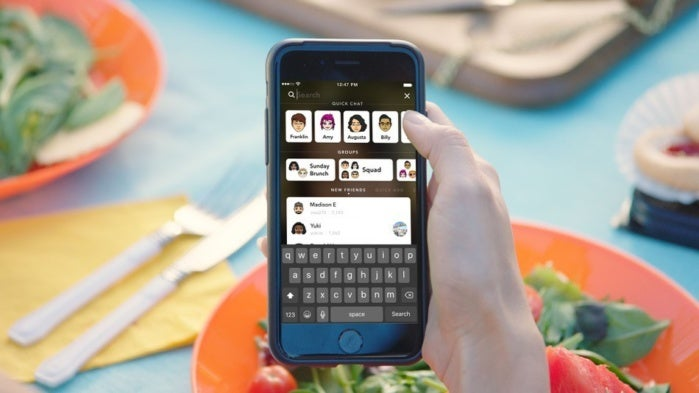 snapchat redesign primary