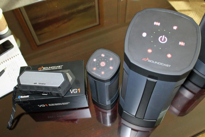 Soundcast VG1 VG3 and VG5