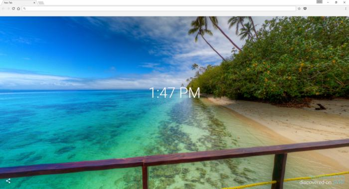How to add 360-degree images to Chrome's New Tab page