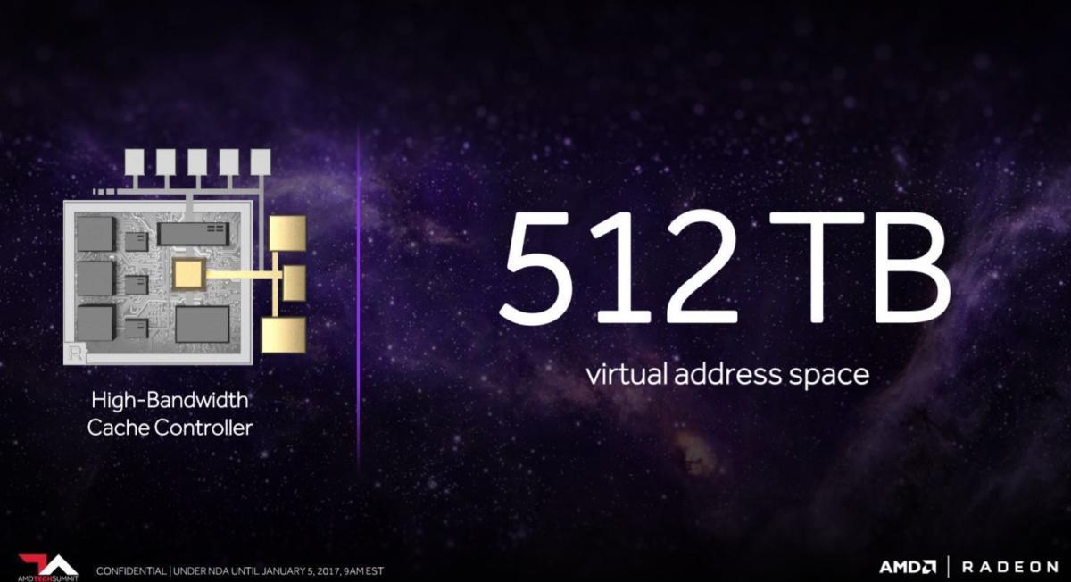 vega 512tb virtual address