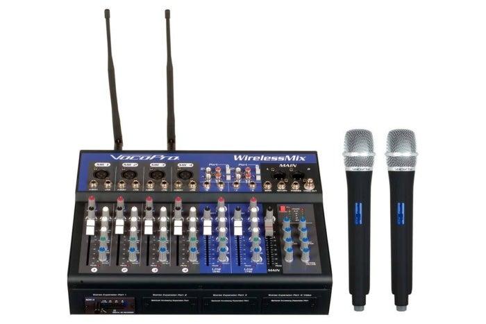 VocoPro WirelessMix-2 review: Live sound goes wireless with