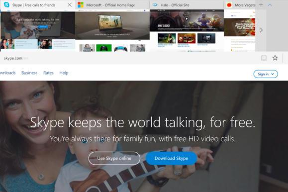 windows 10 cu edge rich tab previews