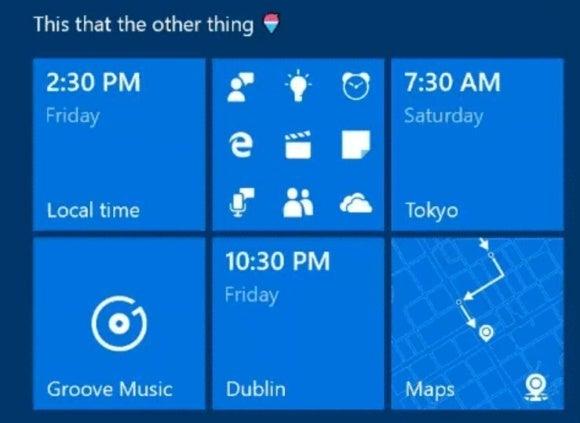 windows 10 cu start menu folders