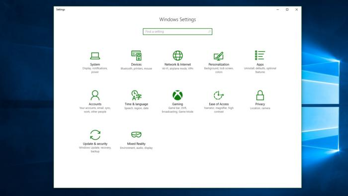 windows 10 pc gaming game settings