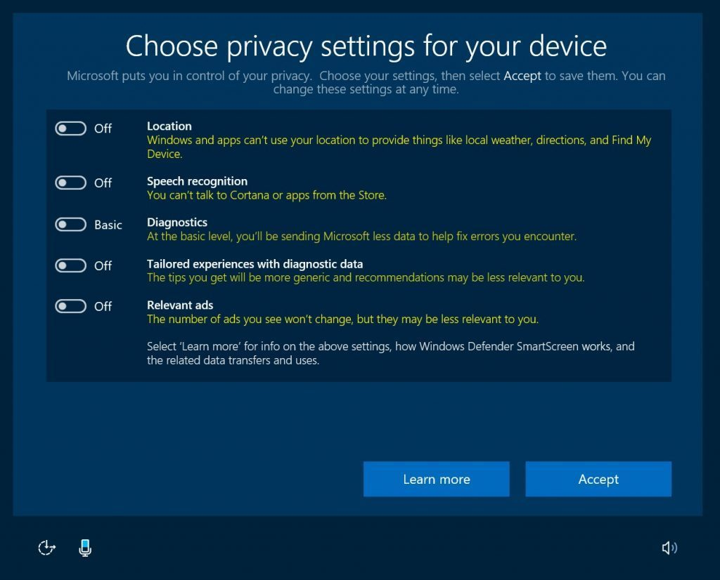 Windows 10's privacy settings will be simpler but more ...