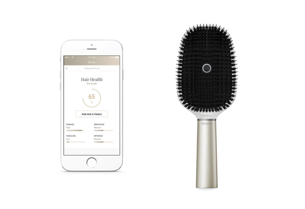 withings kerastase hair coach app