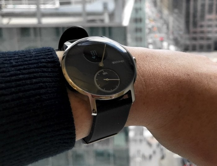 Nokia Steel HR Hybrid Smartwatch Sleep Tracking Wearable
