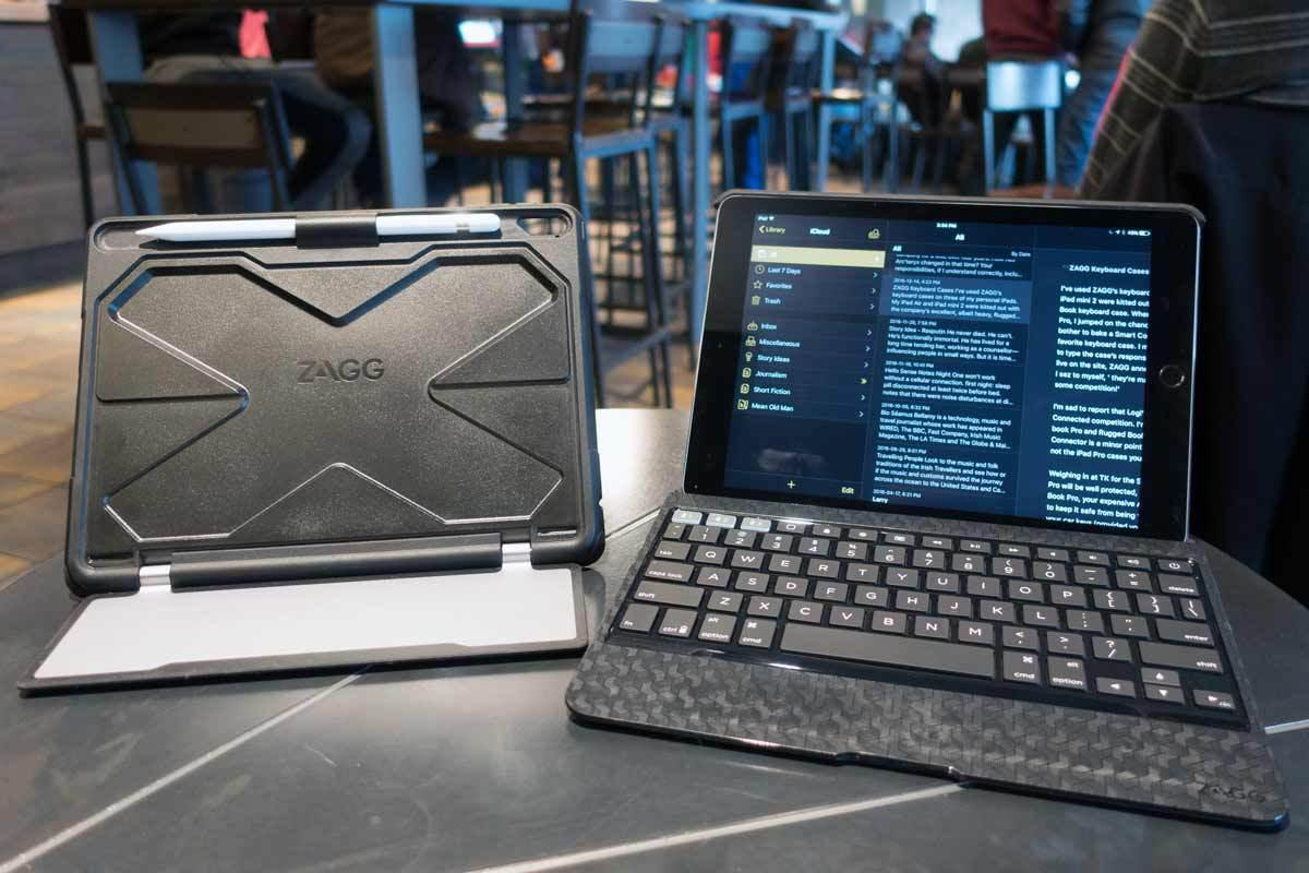 size 40 9e24c bd70d Zagg Slim Case Pro and Rugged Case Pro review: iPad Pro cases no ...