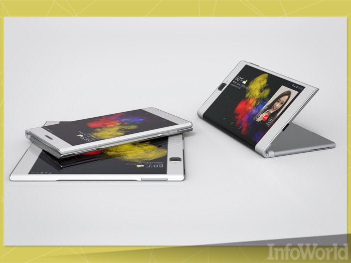 Folding smartphones unfurl into tablets