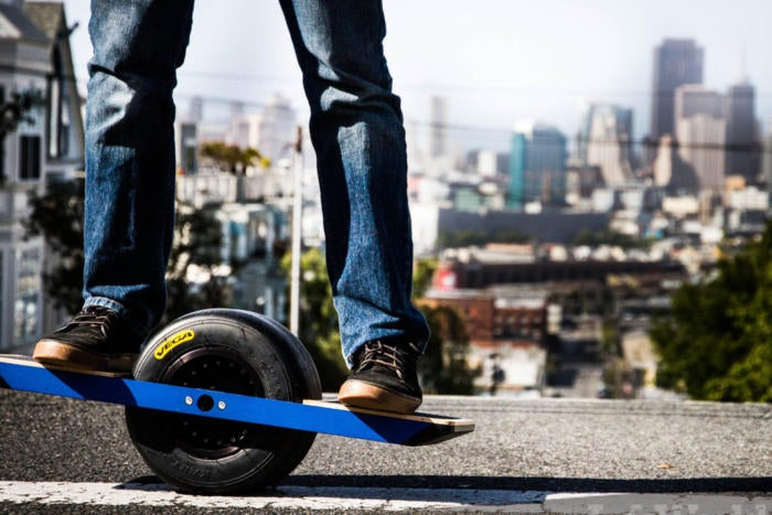 Urban commuters have new ways to roll into the office