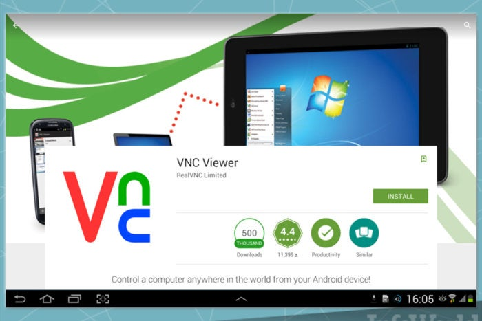 Go remote with VNC