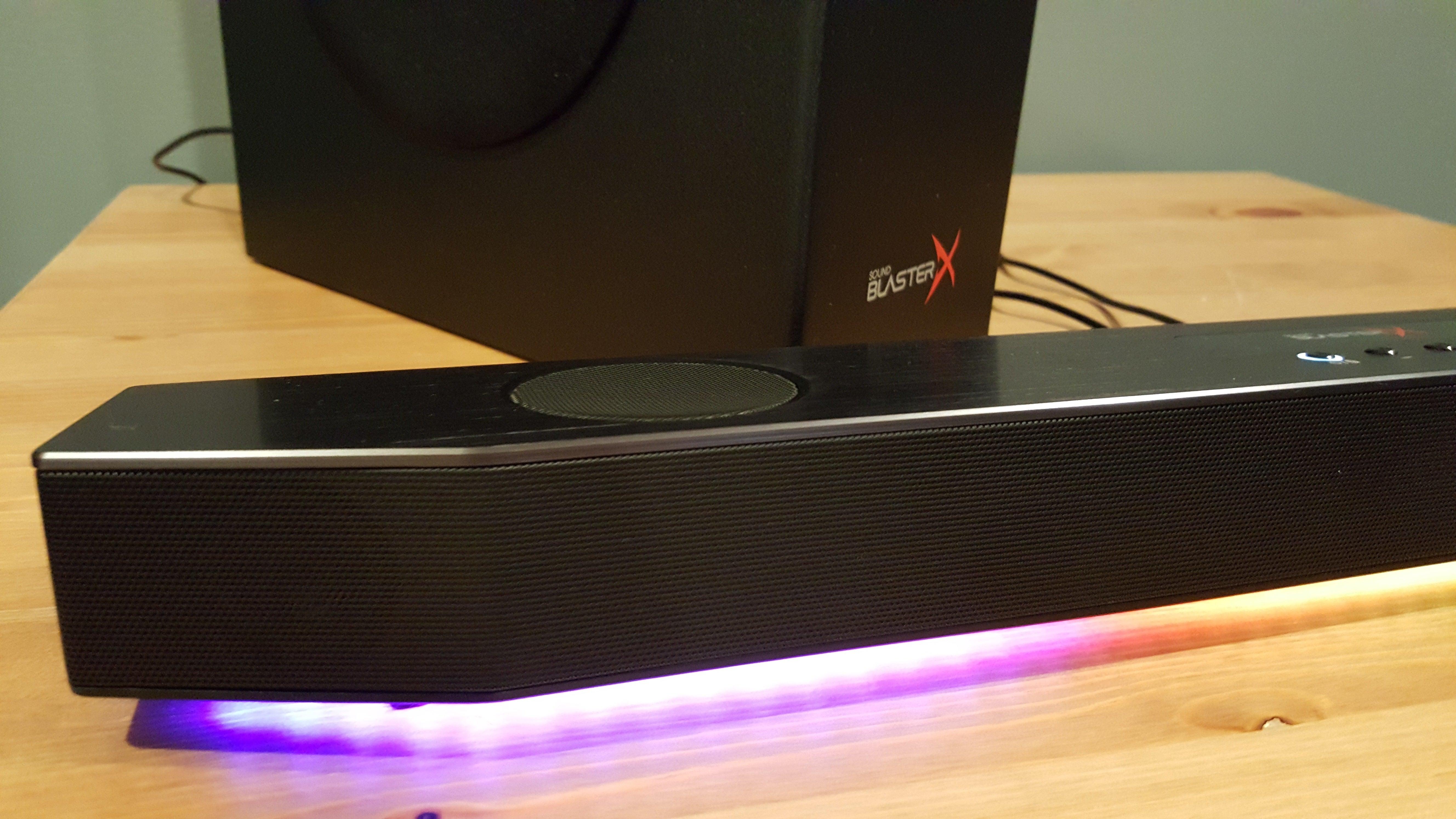 d5221e60e2b Creative Sound BlasterX Katana review  The soundbar finally makes ...