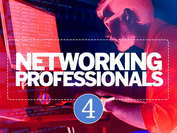 4 networking professionals