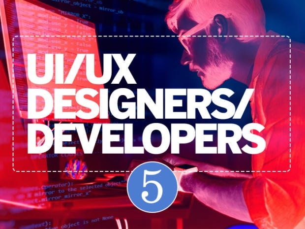 5: UI/UX designers/developers