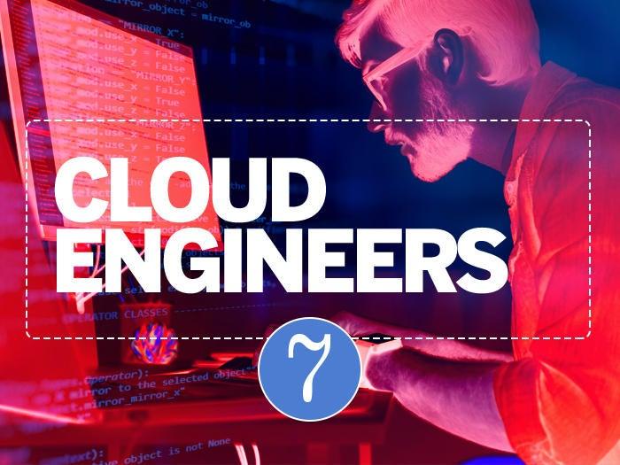 7 cloud engineers