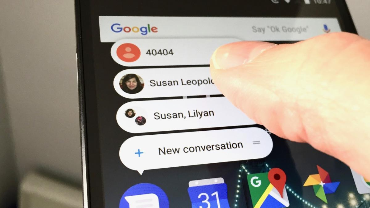 Go to a specific Messenger conversation