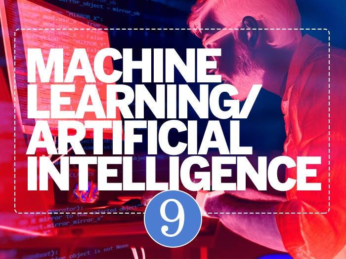 9 machine learning ai