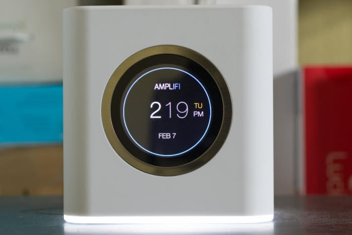 Amplifi router display