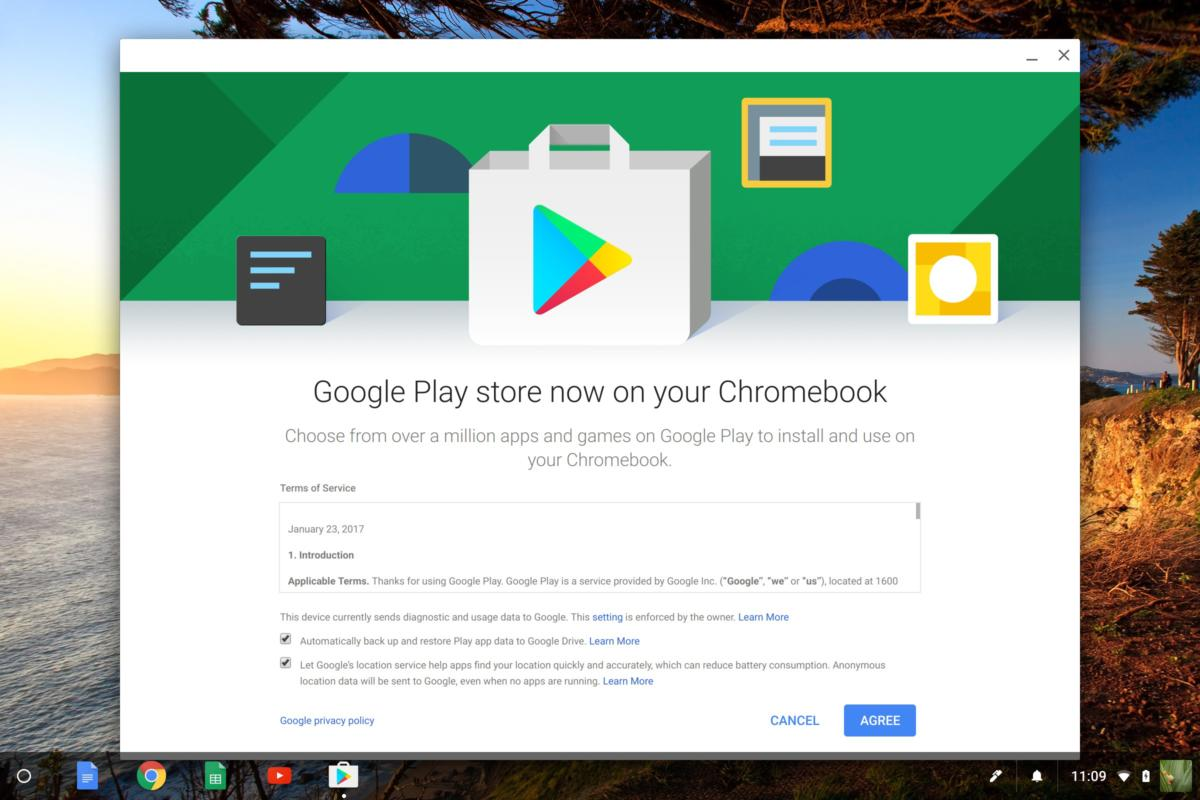 android apps chromebook google play store
