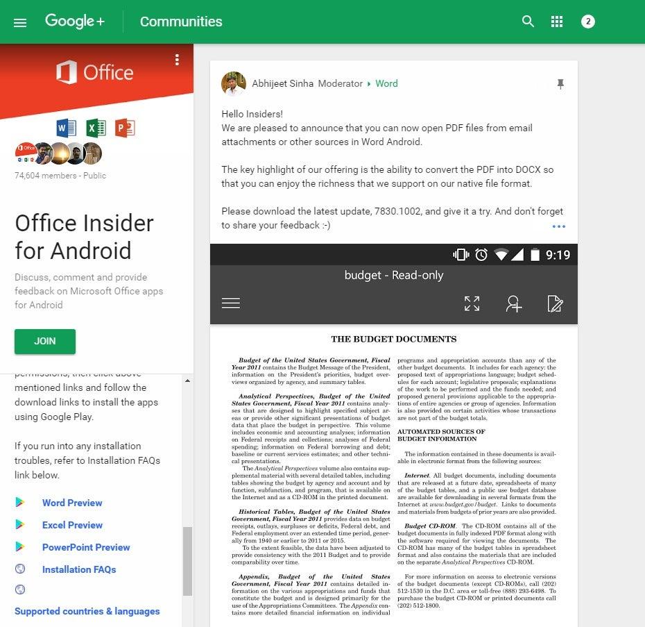 How To Join Microsofts Office Insider Program On Any Platform Pcworld