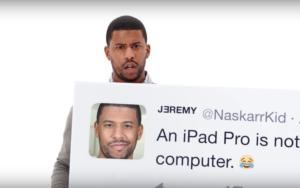 apple commercial ipad pro tweets