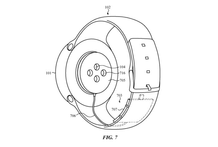 apple watch charging band patent