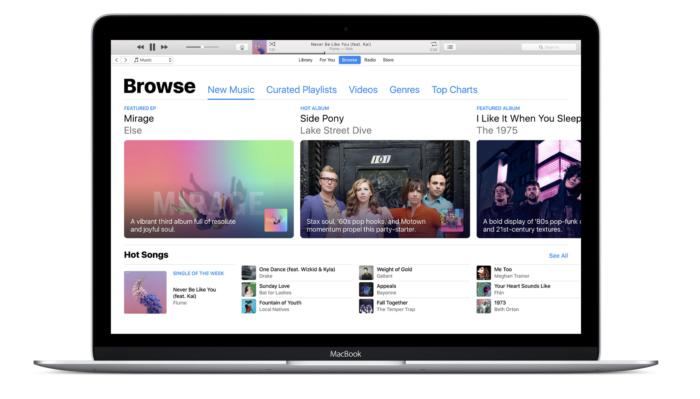 apple music 2017 browse