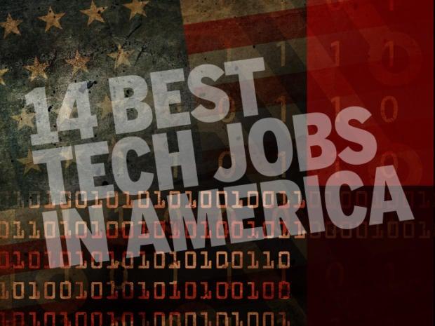 best tech jobs in america