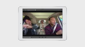 carpool karaoke ipad