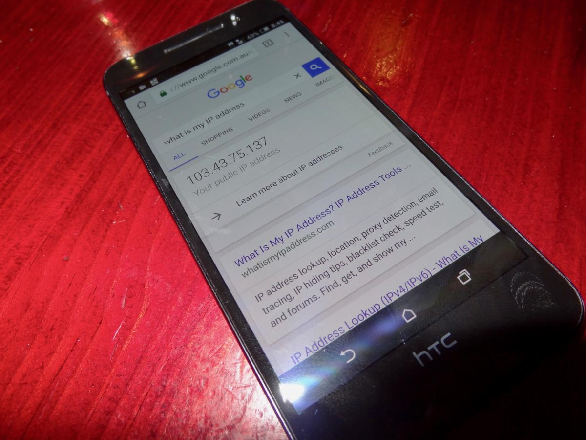 cog systems d4 secure htc a9 ip address