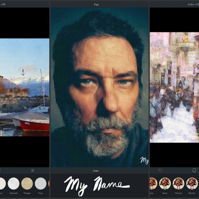 The week in ios apps make your pictures and videos look for App that makes pictures look like paintings