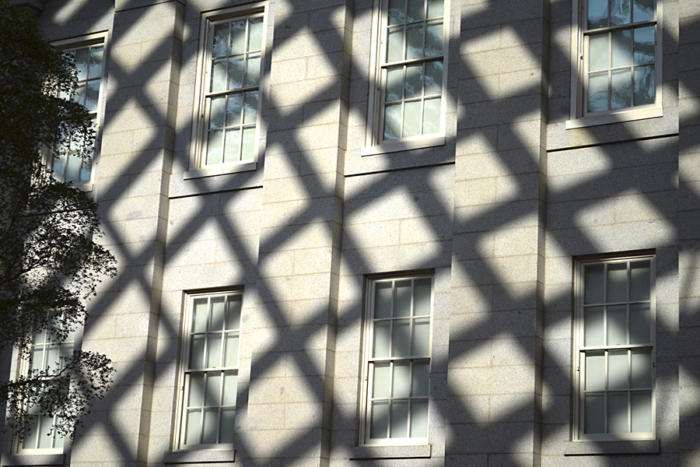 exterior windows shadow