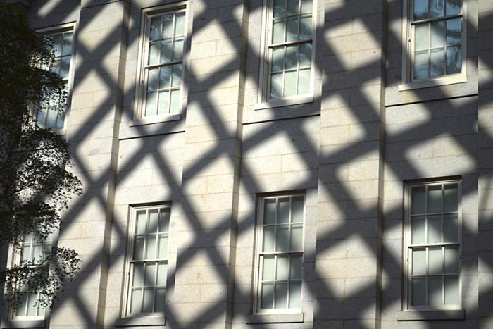 exterior windows shadow