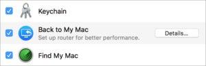 find my mac system pane
