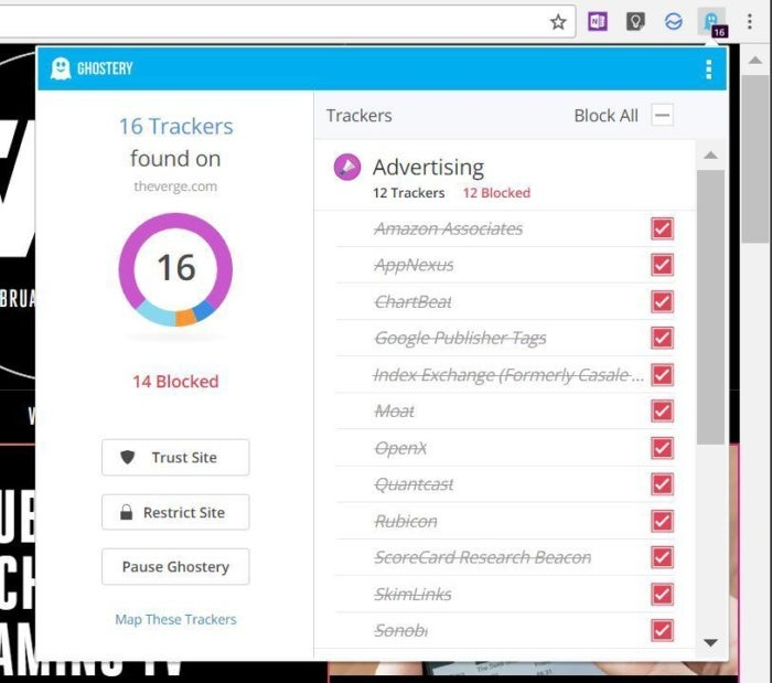 ghostery trackers
