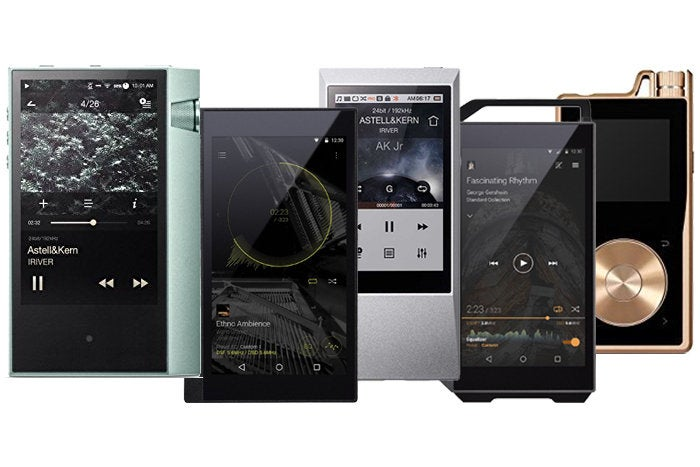 High-res digital audio players