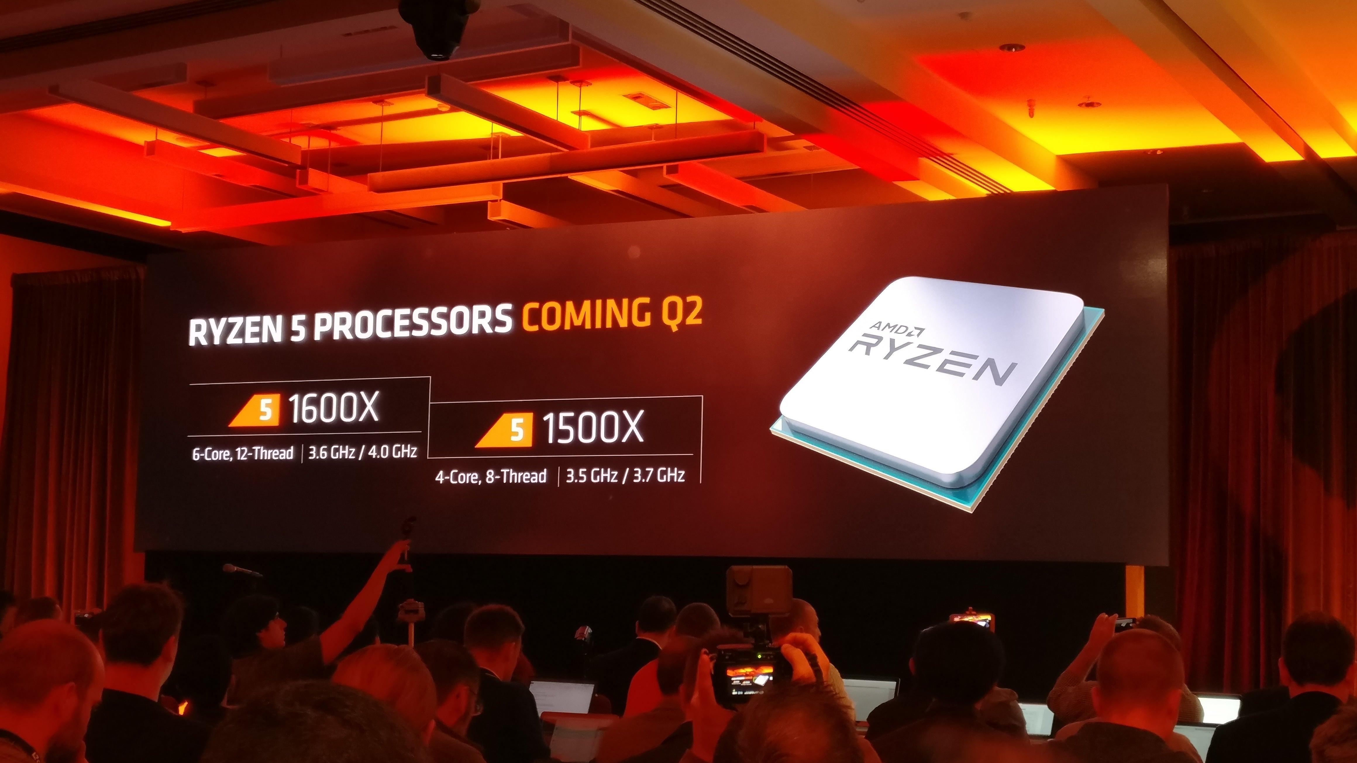 AMD teases Ryzen 5, Zen 2 plans as it begins shipping its