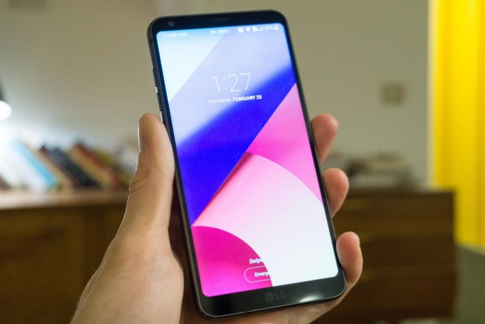 hands on with the lg g6 a nice phone but not especially innovative greenbot. Black Bedroom Furniture Sets. Home Design Ideas