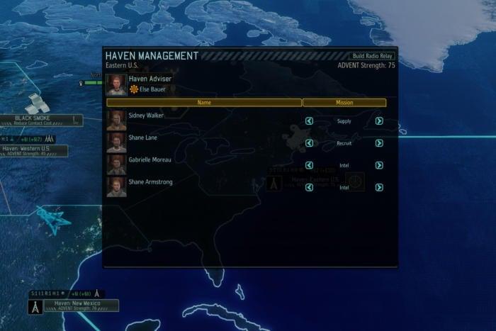 long war 2 haven management