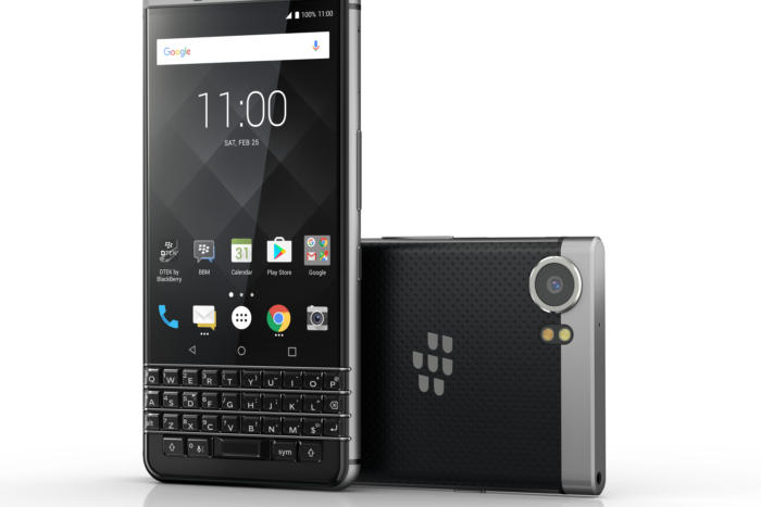 Yes, that really is a new BlackBerry keyboard phone