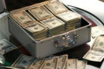 money case ransom hundreds