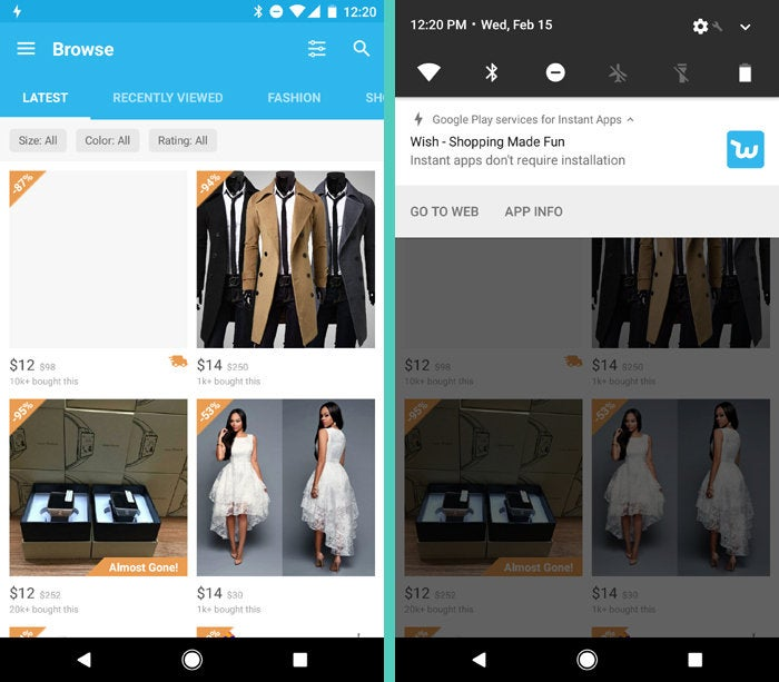 New Android Features: Instant Apps (3)