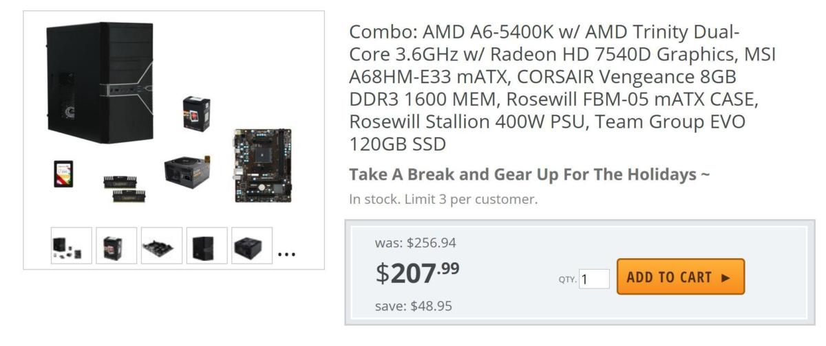 newegg bundle