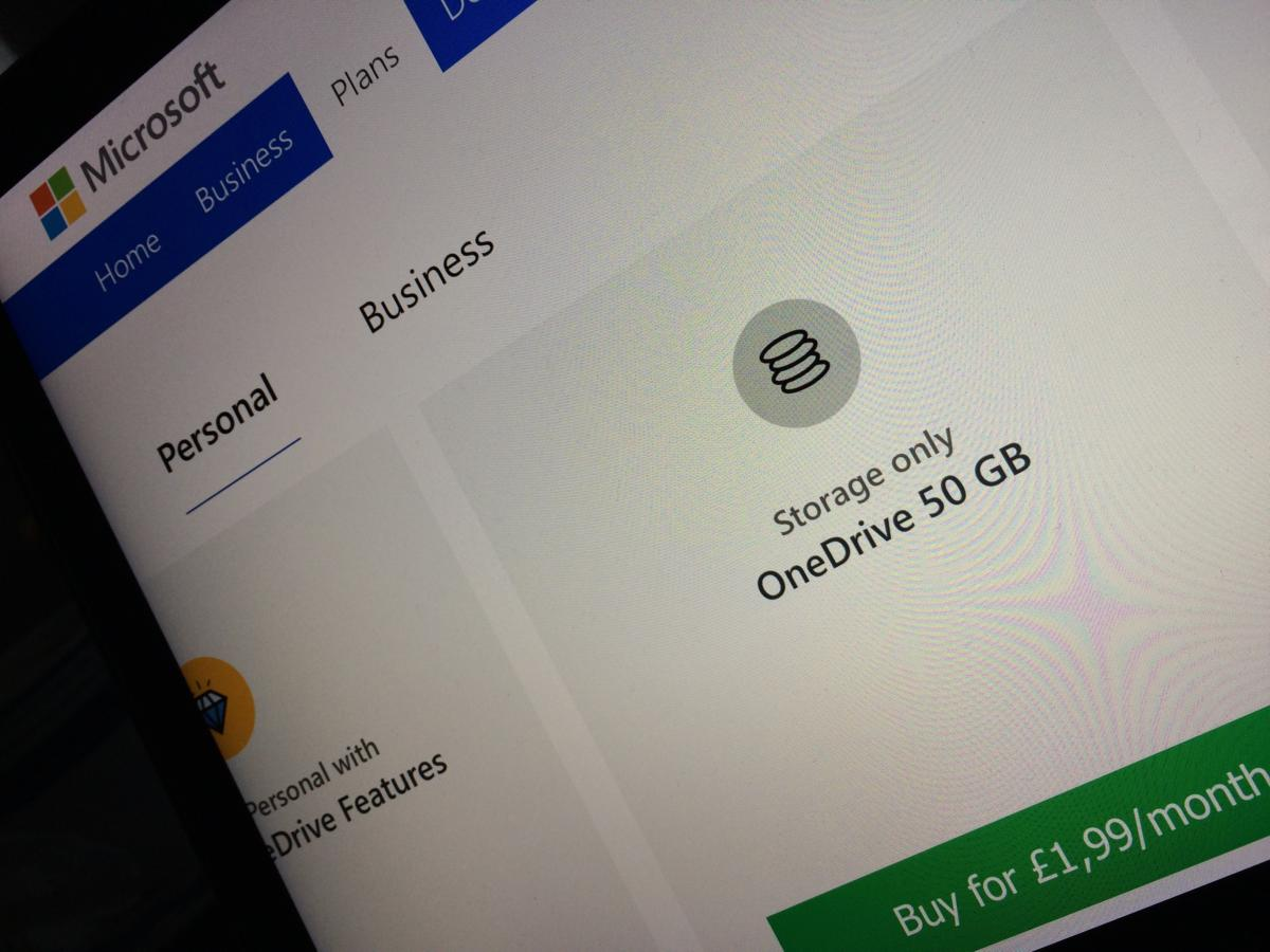 Microsoft has changed the terms of its consumer OneDrive service in the U.K.